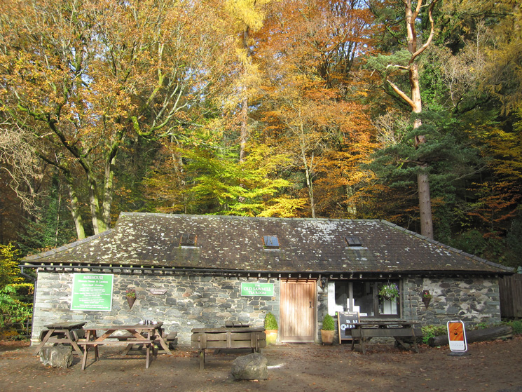 The Old Sawmill Tea Room, time for lunch