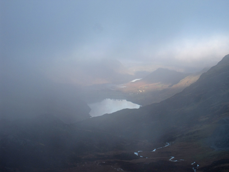 A glimpse of Buttermere