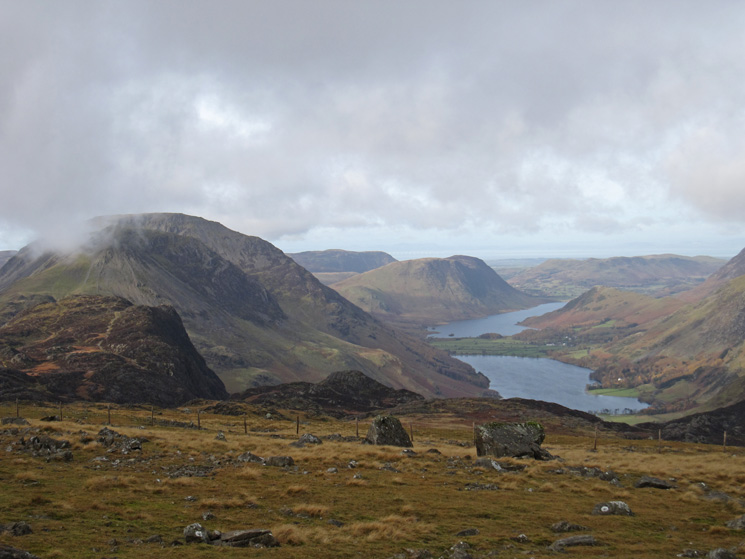 Haystacks and the High Stile ridge, Buttermere and Crummock Water