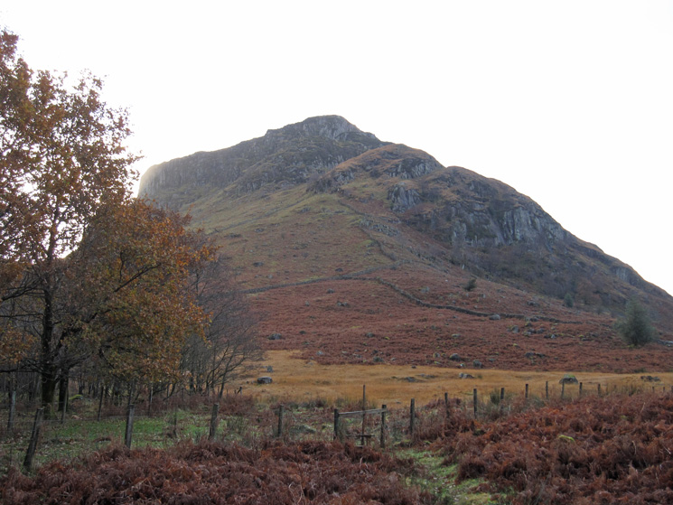 Eagle Crag from below