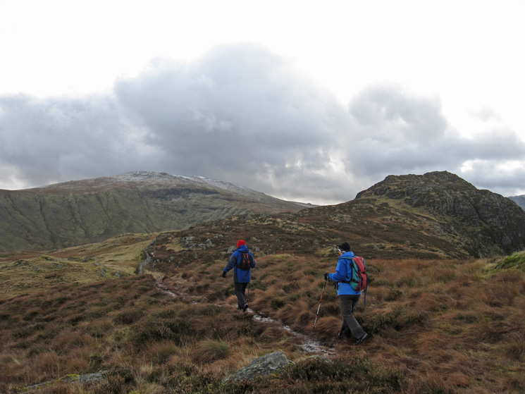 Heading for Sergeant's Crag