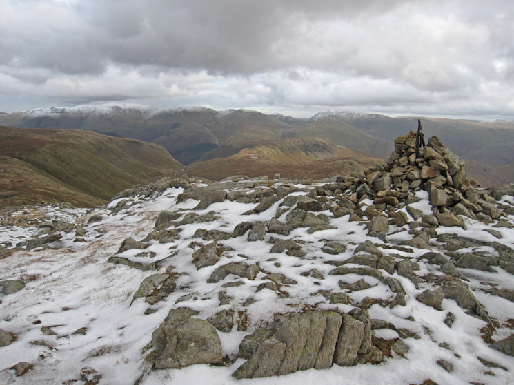 The cairn at Low White Stones