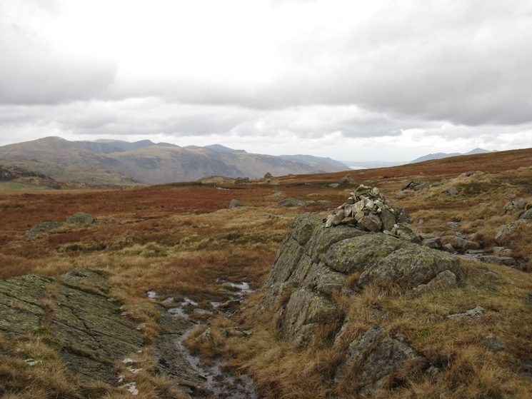 The way to Greenup Gill from Greenup Edge