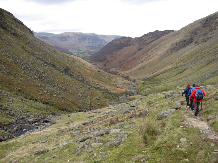 Heading down Greenup Gill