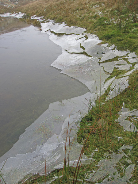 The remains of the ice sheet