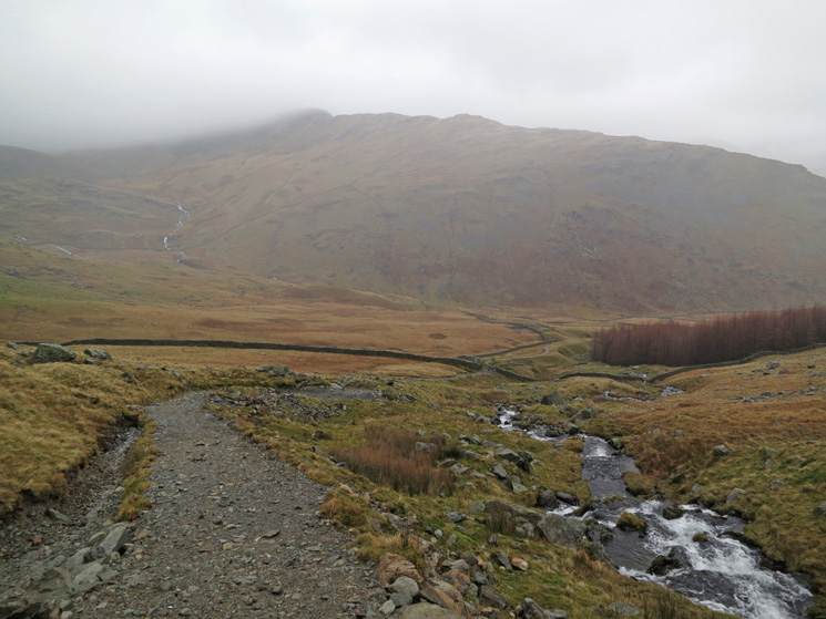 Rough Crag ahead as I descend to Mardale Head