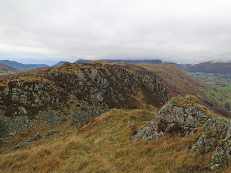 High Rigg from Wren Crag