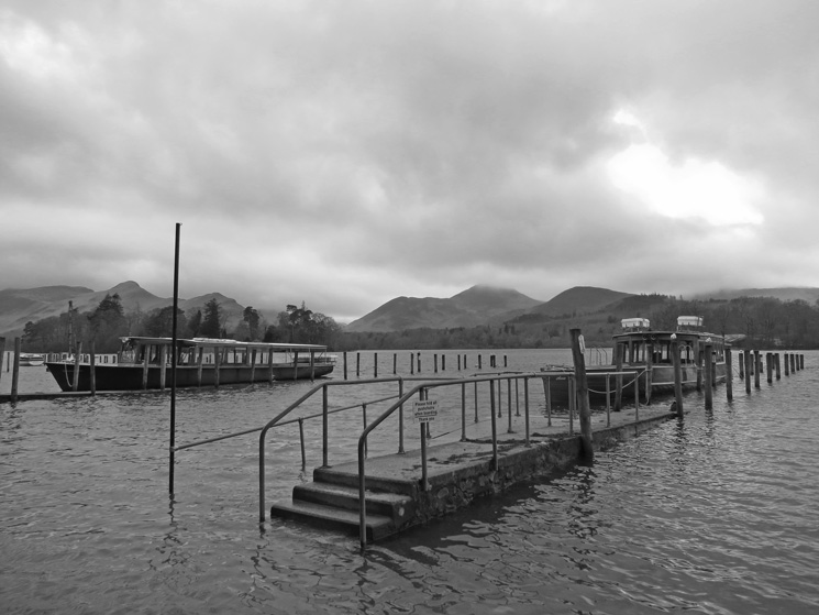 Keswick Landing Stages, if you wade