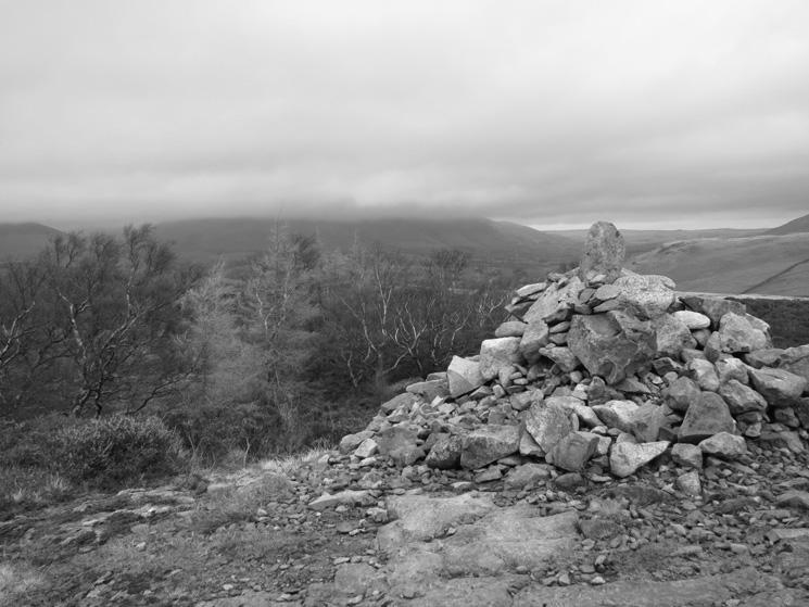 Walla Crag's summit cairn