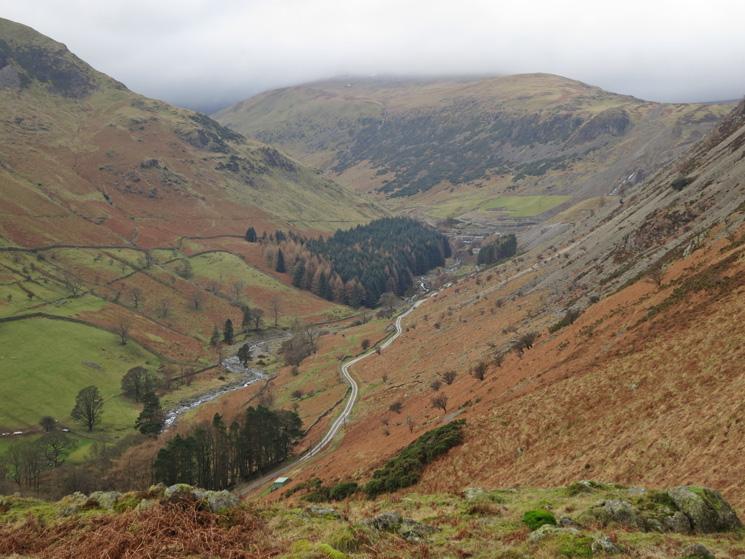The Greenside Road up Glenridding