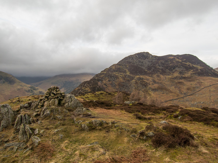 The ridge to Heron Pike from Glenridding Dodd's summit
