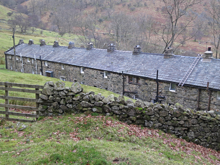 The old miners cottages of Seldom Seen, Glencoyne