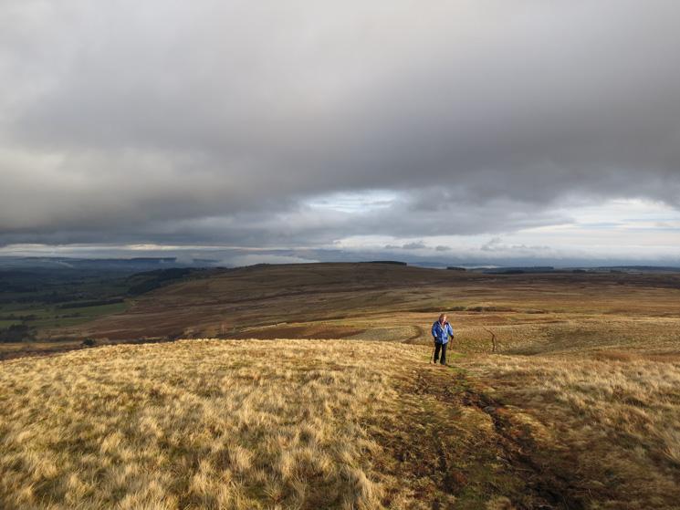 Ascending Barton Fell