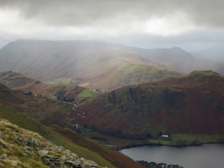 Hallin Fell with Place Fell behind