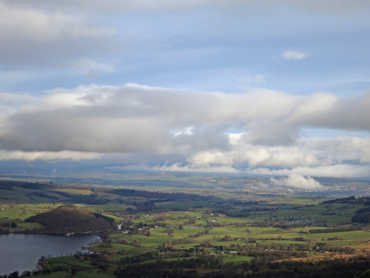 The view northeast to Pooley Bridge and Penrith