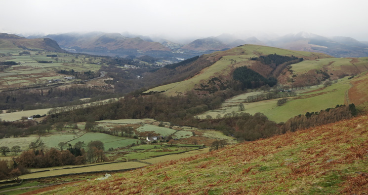 Towards Derwent Water