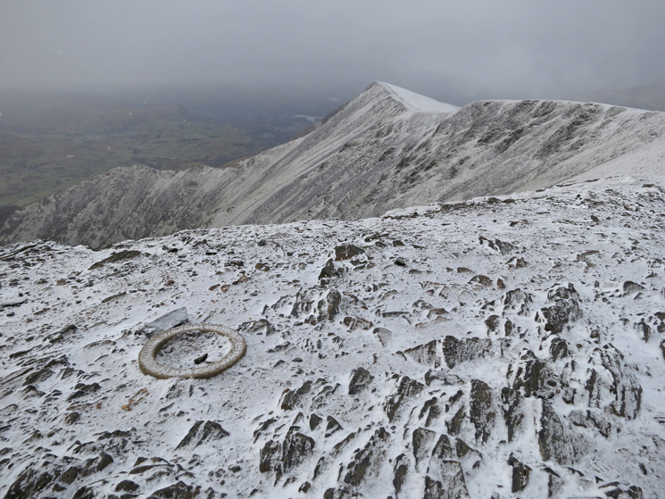 Gategill Fell from Blencathra's summit