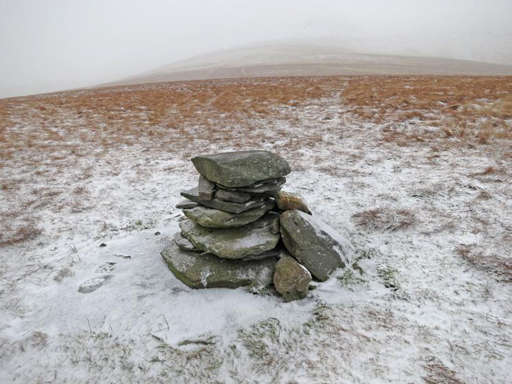 Mungrisdale Common's summit cairn