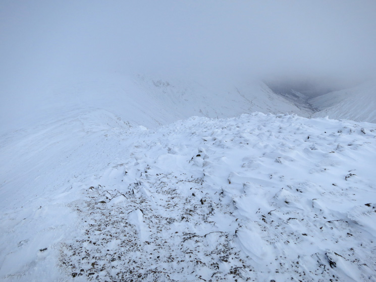 Helvellyn Lower Man's north ridge, my descent route