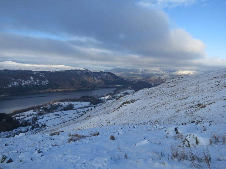 Thirlmere from the descent