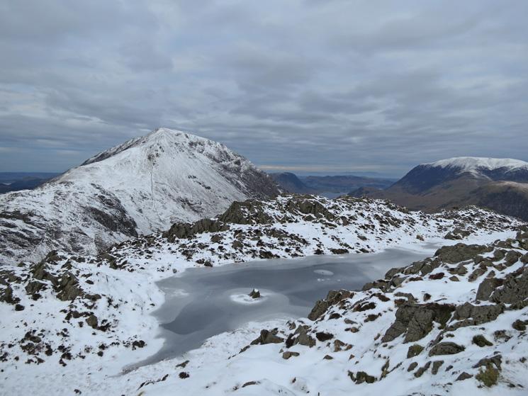 High Crag from Haystacks summit