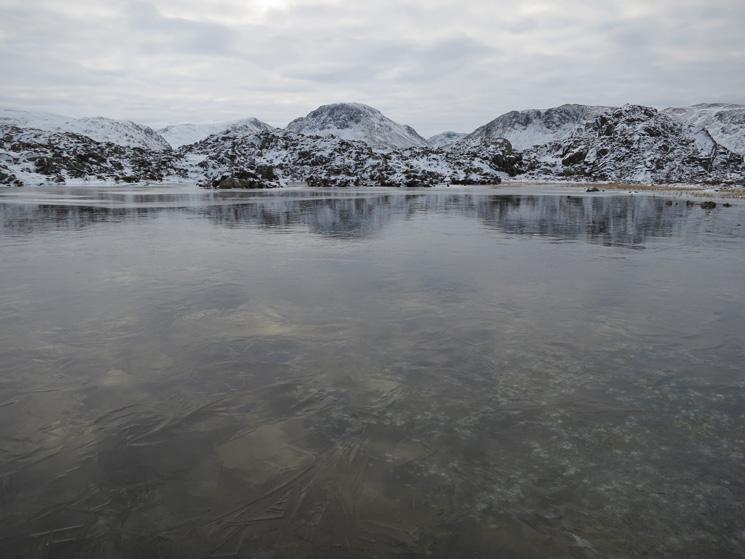 A frozen Innominate Tarn