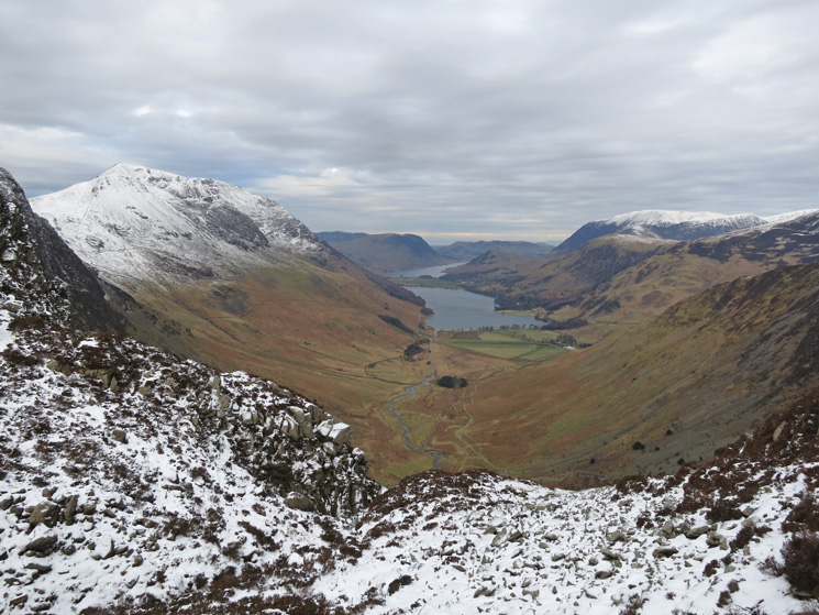 Buttermere with Crummock Water beyond