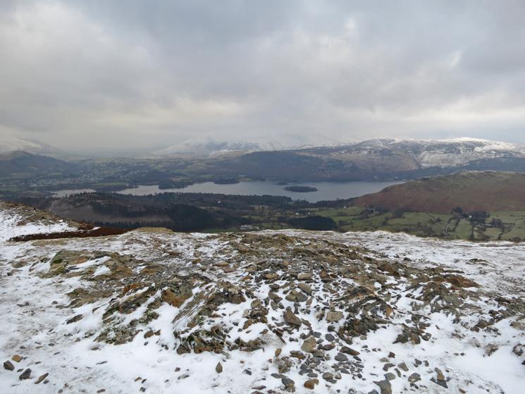 Derwent Water from Barrow's summit