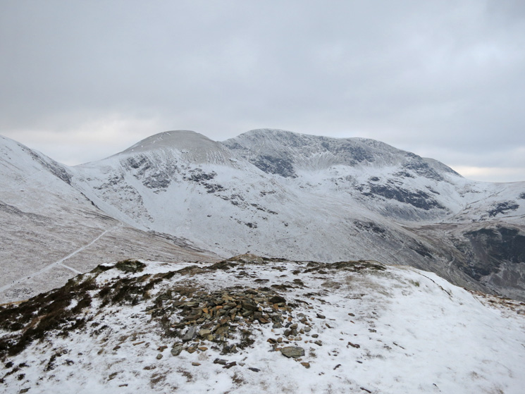 Sail and Eel Crag from Outerside's summit