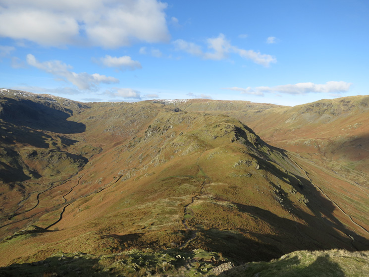 The ridge ahead from Helm Crag