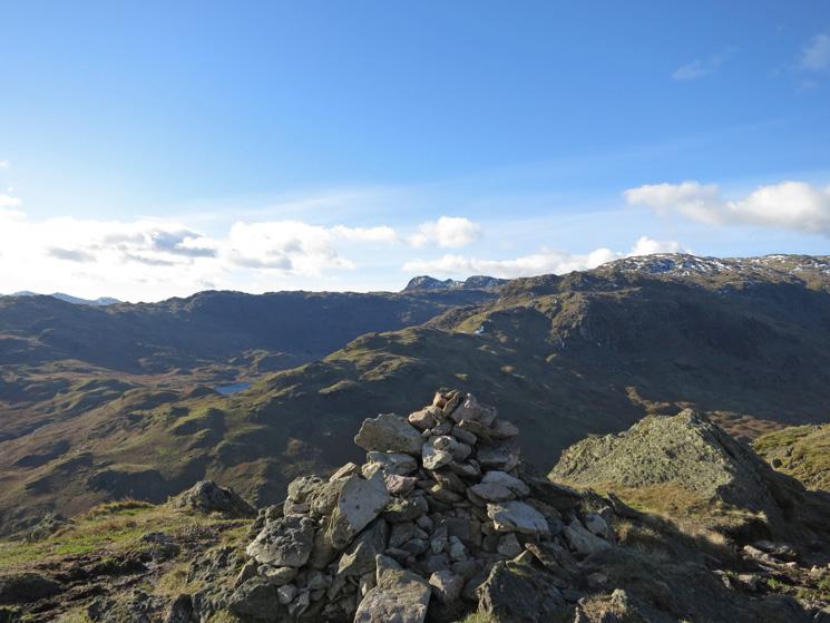 Gibson Knott summit cairn