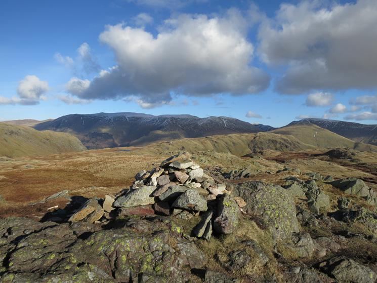 Calf Crag summit