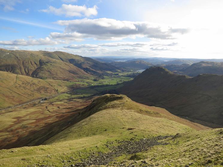 Steel Fell's south east ridge