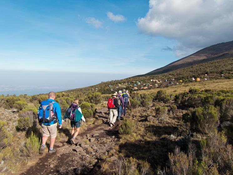 Approaching Kikelelwa Camp