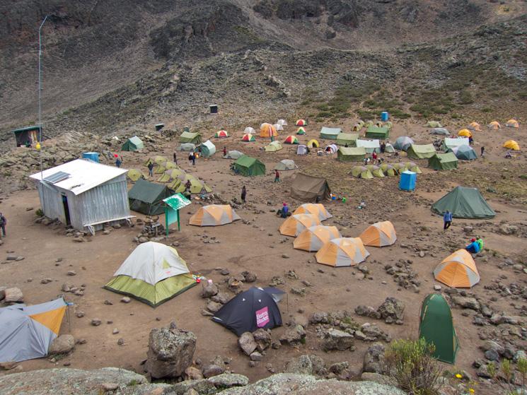 Mawenzi Tarn Camp