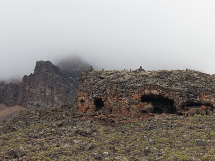 Caves above the tarn