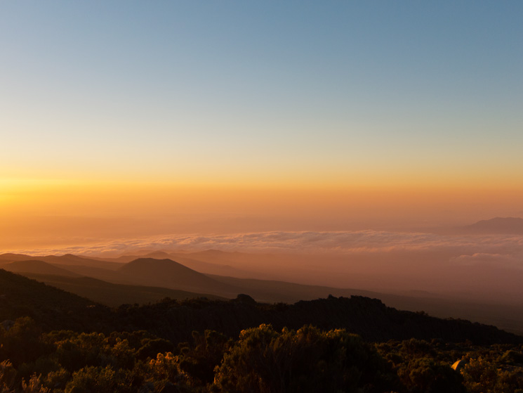 Sunrise, Horombo Huts