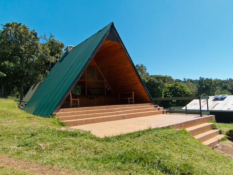 Reception, Mandara Huts