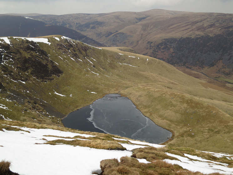 Bowscale Tarn below
