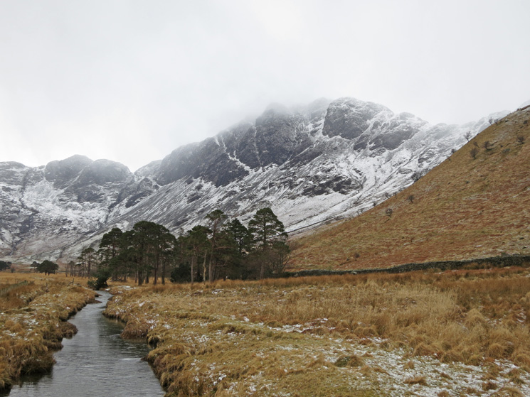 Haystacks from Peggy's Bridge