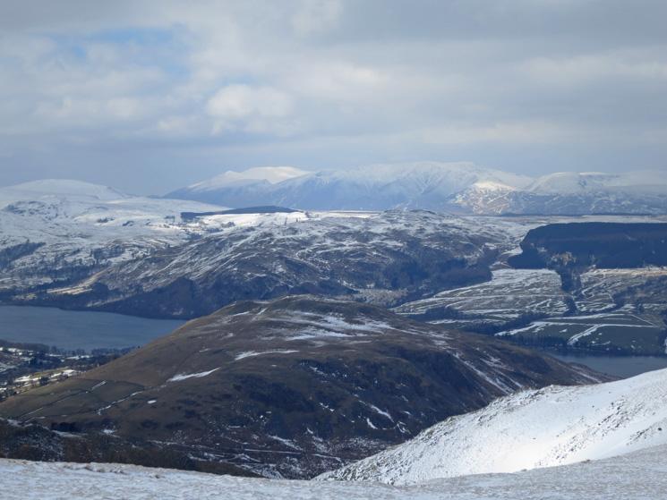 Over Hallin Fell to Skiddaw and Blencathra