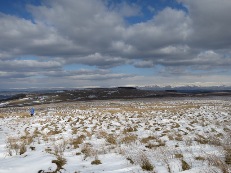Heughscar Hill ahead
