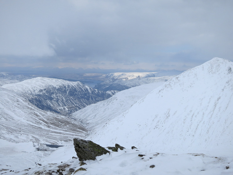 Sheffield Pike left and Catstycam right