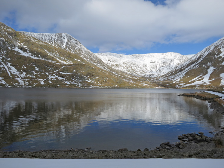 Kentmere Reservoir from the end of the dam