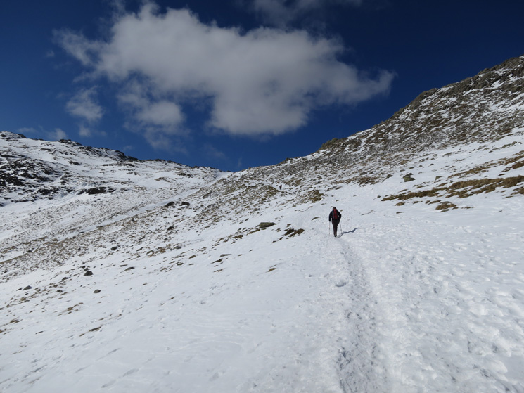 Heading for Three Tarns