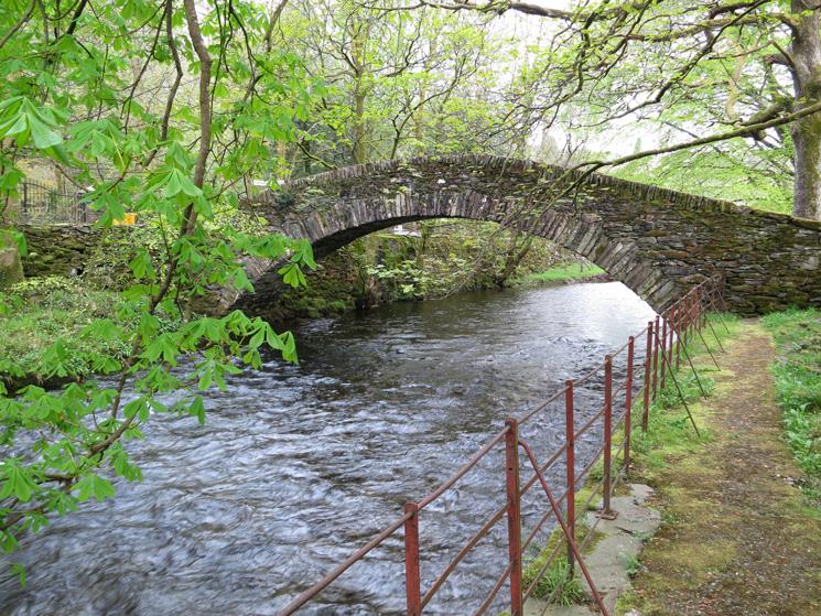 Miller Bridge, across the River Rothay