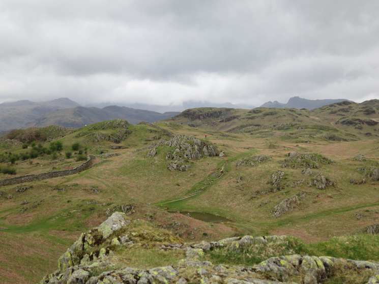 The east end of Loughrigg Fell