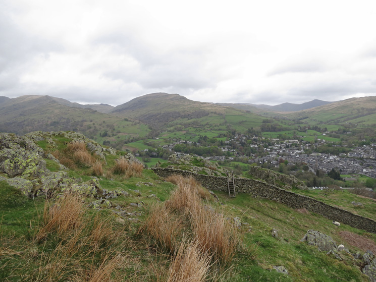 Red Screes and a bit of Ambleside