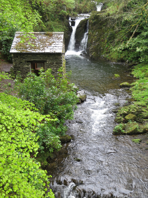 The Grot and Waterfall, Rydal Hall