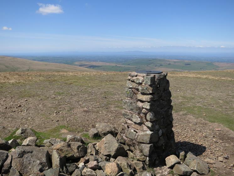 High Pike summit